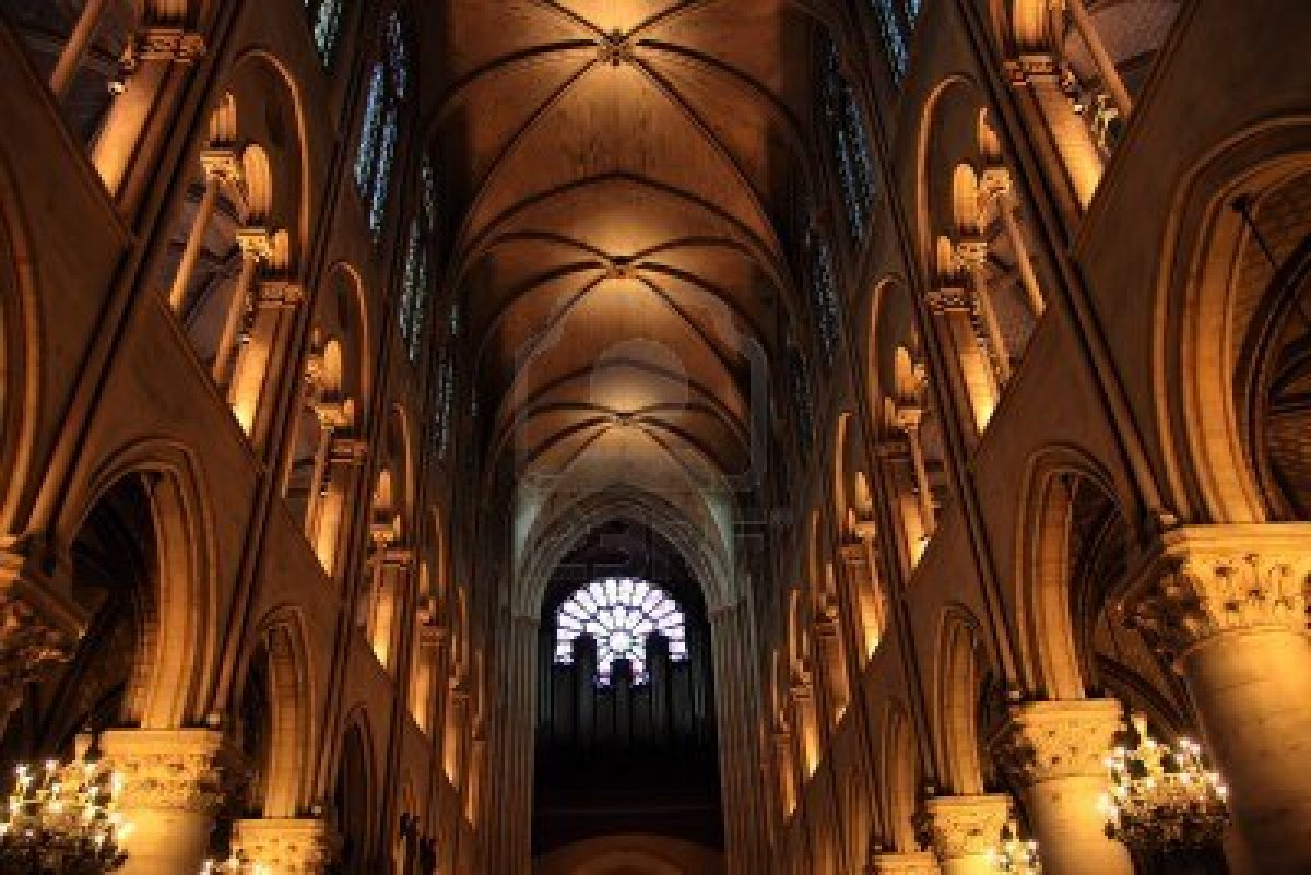 12904009-interior-of-the-gothic-church-of-notre-dame-paris-france